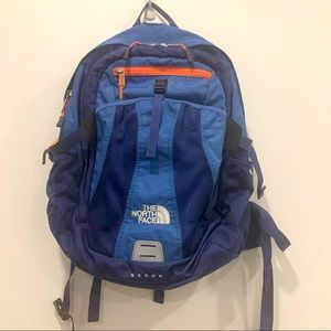 The North Face Recon Pack Backpack Frameless blue